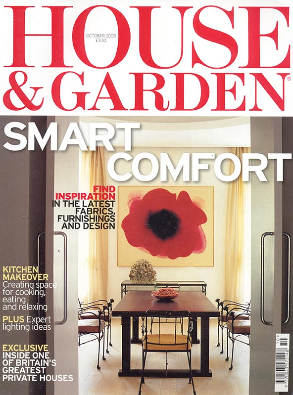 HOUSE  GARDEN Octobre2005 couverture.jpg